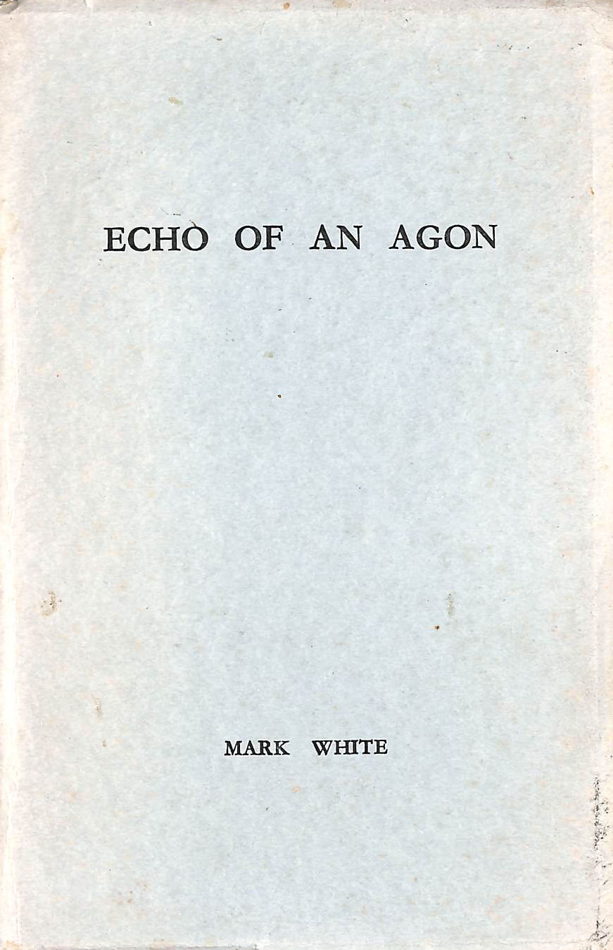 Image for Echo Of An Agon