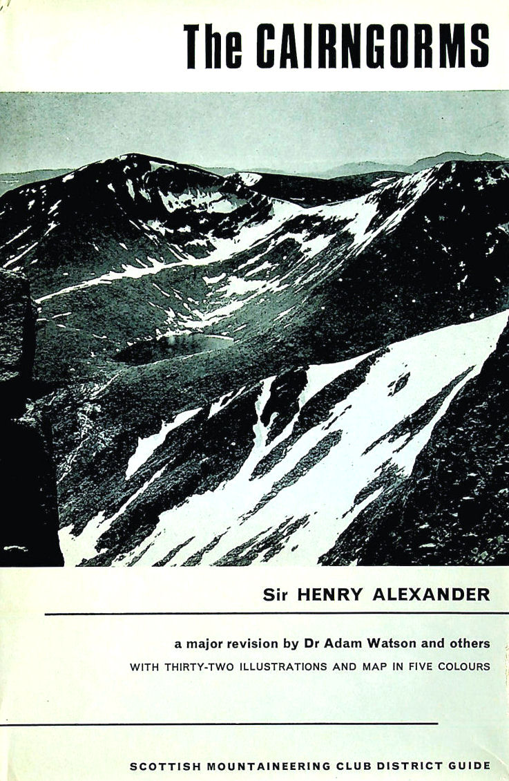 Image for The Cairngorms. The Scottish Mountaineering Club District Guide. 1968