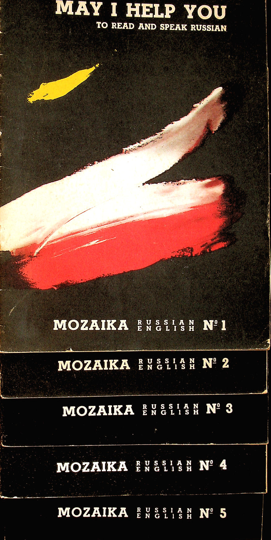 Image for May I Help You to Read and Speak Russian. Mozaika, Nos 1, 2, 3, 4, 5