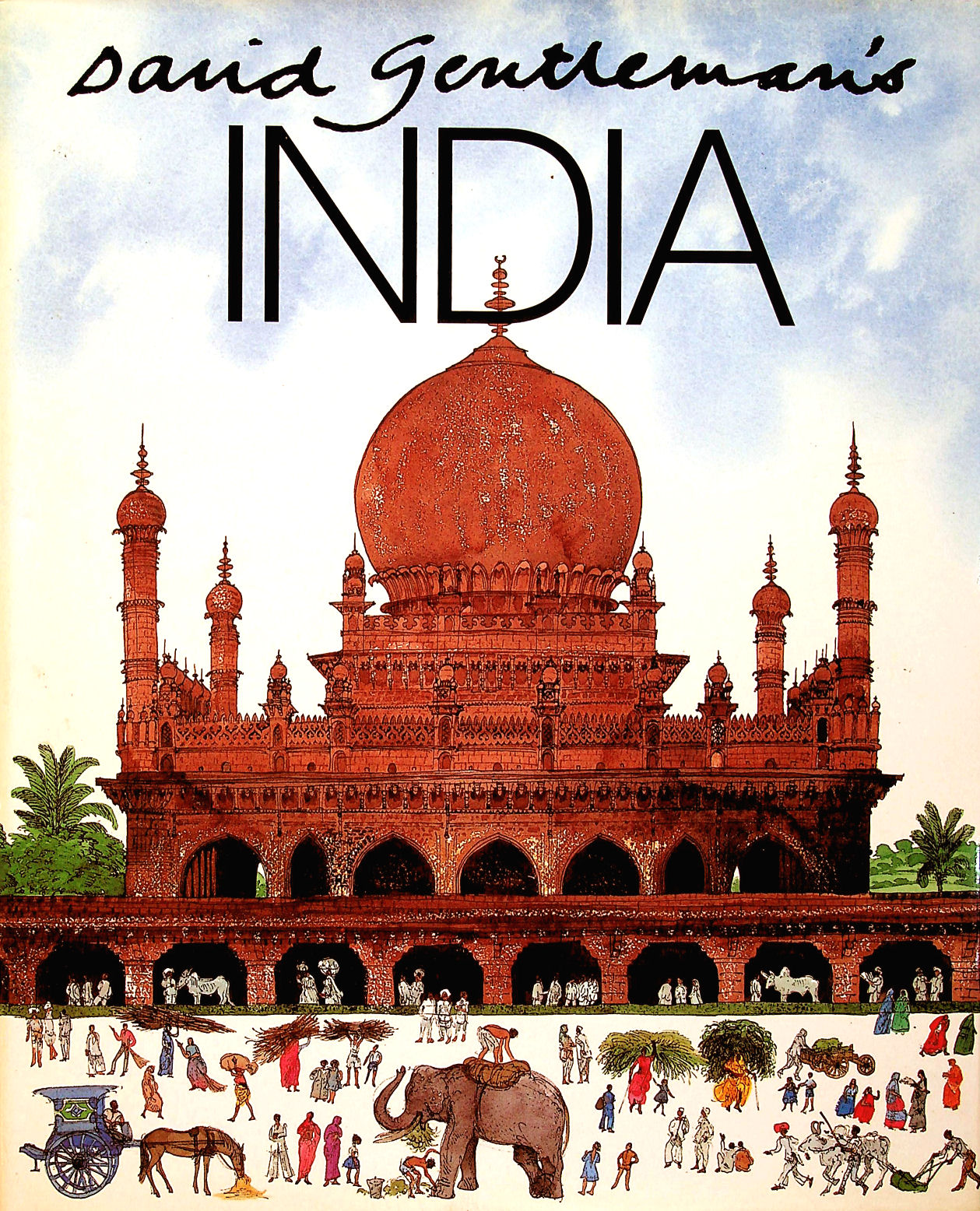 Image for David Gentleman's India