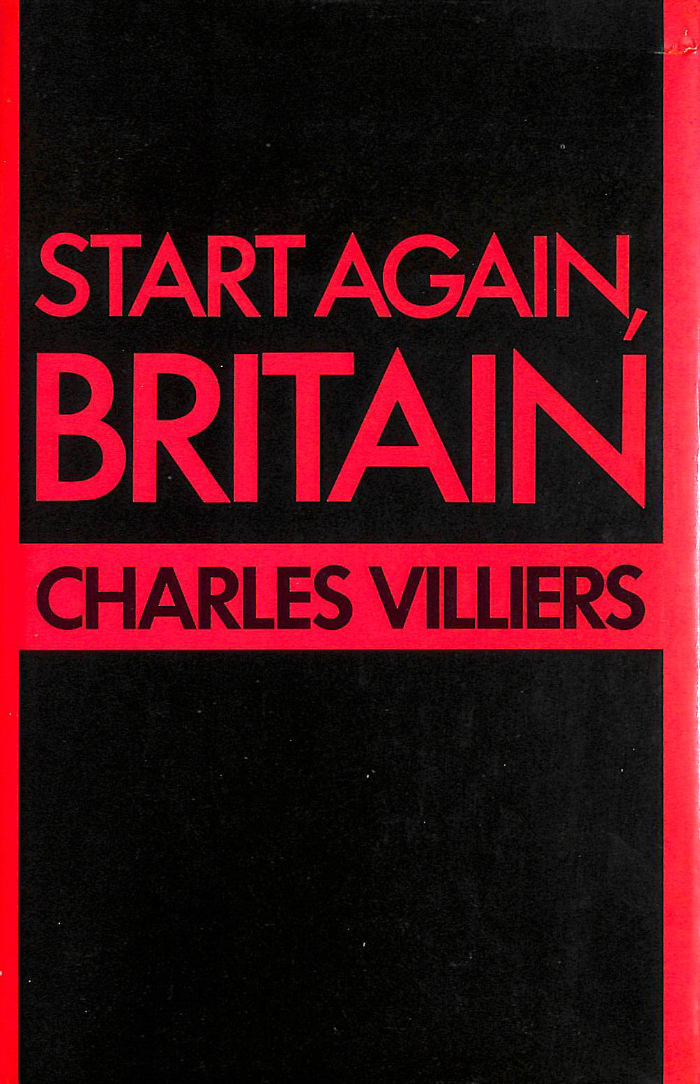 Image for Start Again Britain