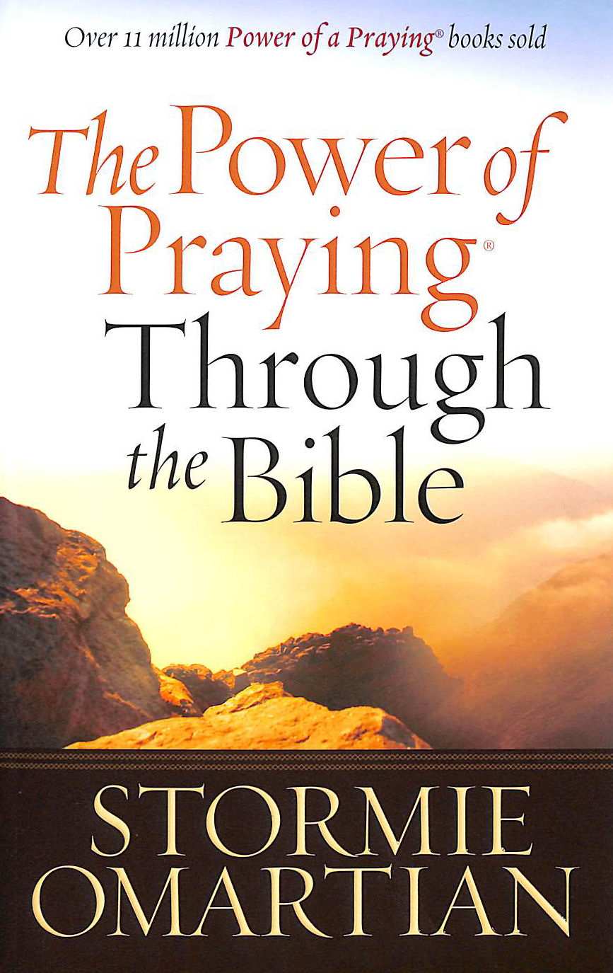 Image for POWER OF PRAYING THROUGH THE BIBLE