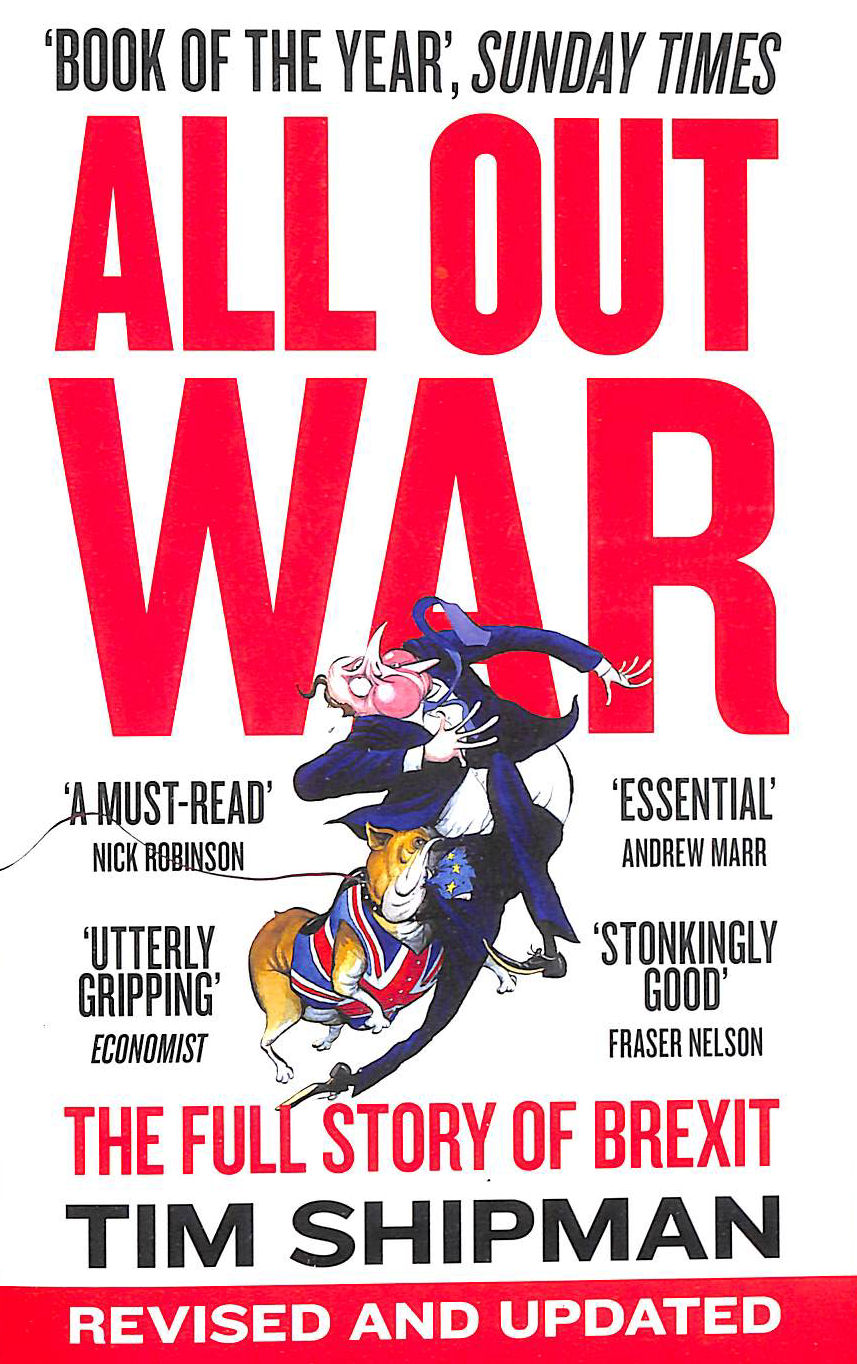Image for ALL OUT WAR: The Full Story of Brexit (Brexit Trilogy 1)