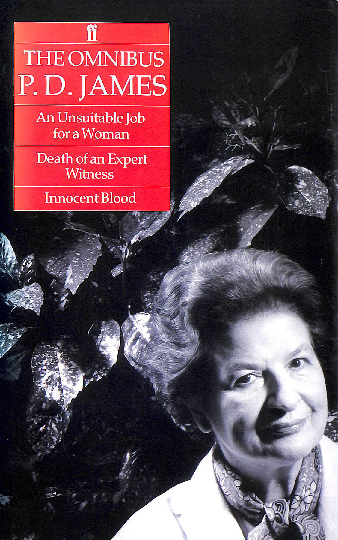 "Image for Omnibus P D James a: ""Unsuitable Job for a Woman"", ""Death of an Expert Witness"" and ""Innocent Blood"""