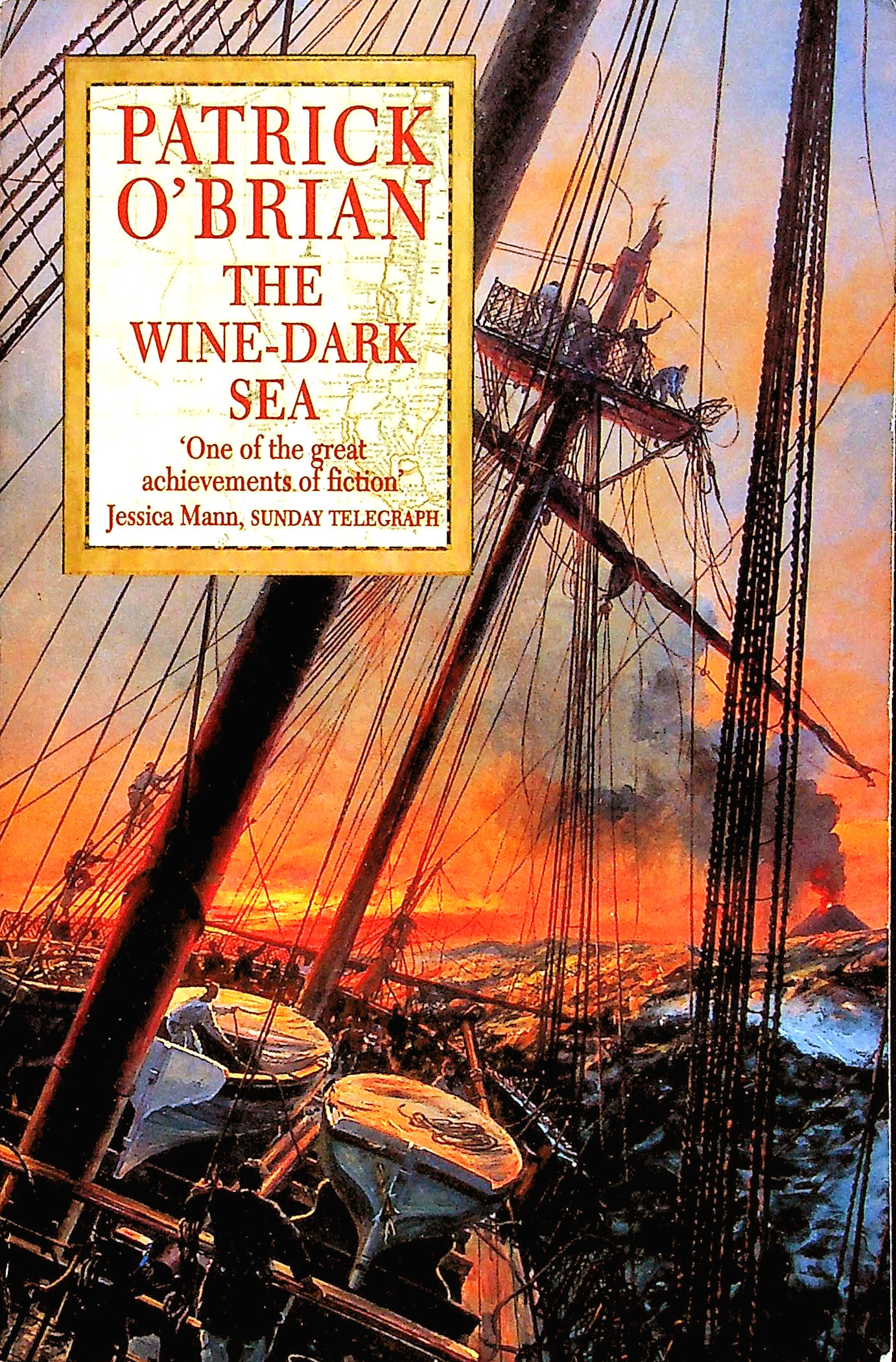 Image for The Wine-dark Sea(40th anniversary Special edition) (Aubrey/Maturin Series)