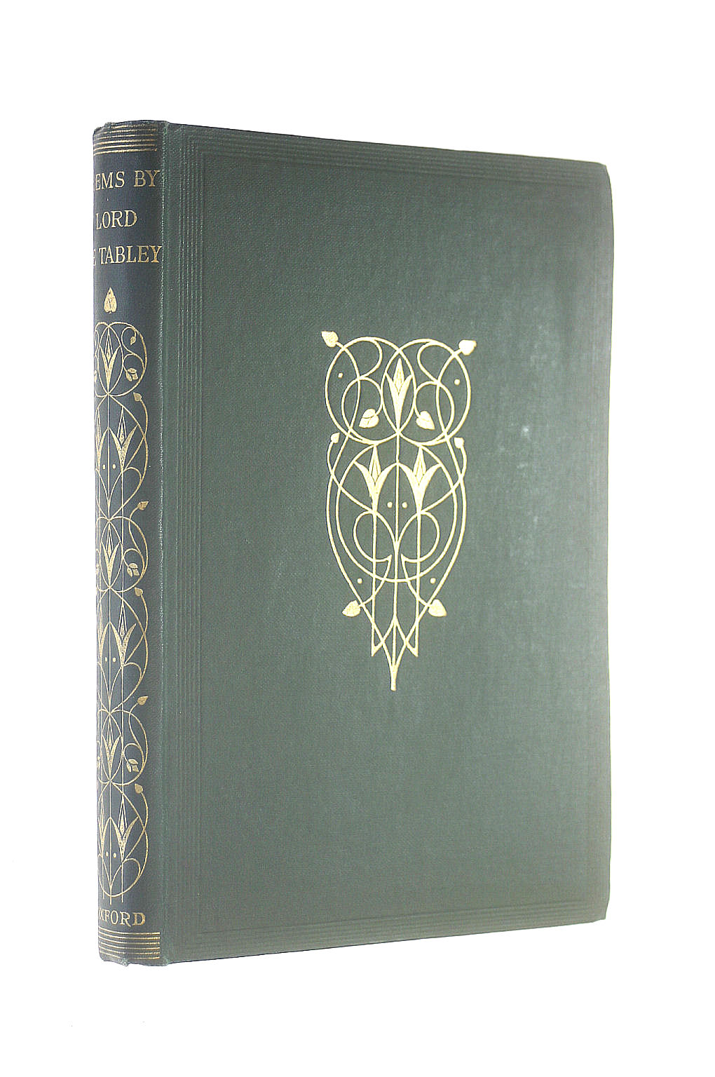 Image for Select Poems of Lord de Tabley, [Oxford Miscellany series]