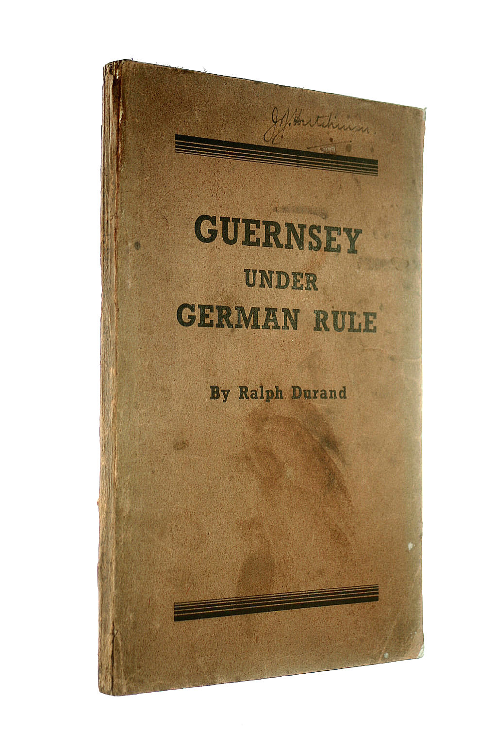 Image for Guernsey Under German Rule