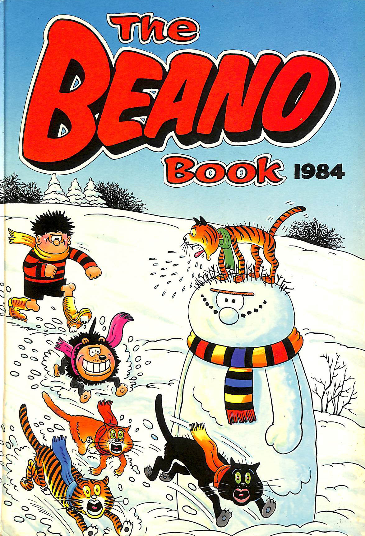 Image for THE BEANO BOOK 1984.