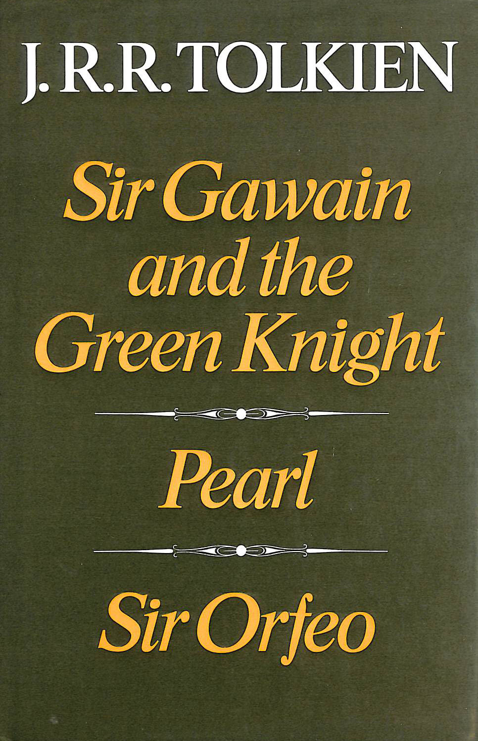 Image for Sir Gawain and the Green Knight & Pearl & Sir Orfeo