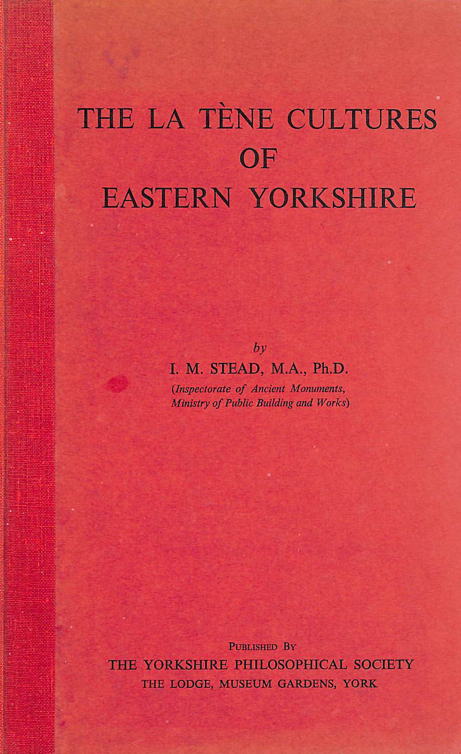 "Image for ""La Tene"" Cultures of Eastern Yorkshire"