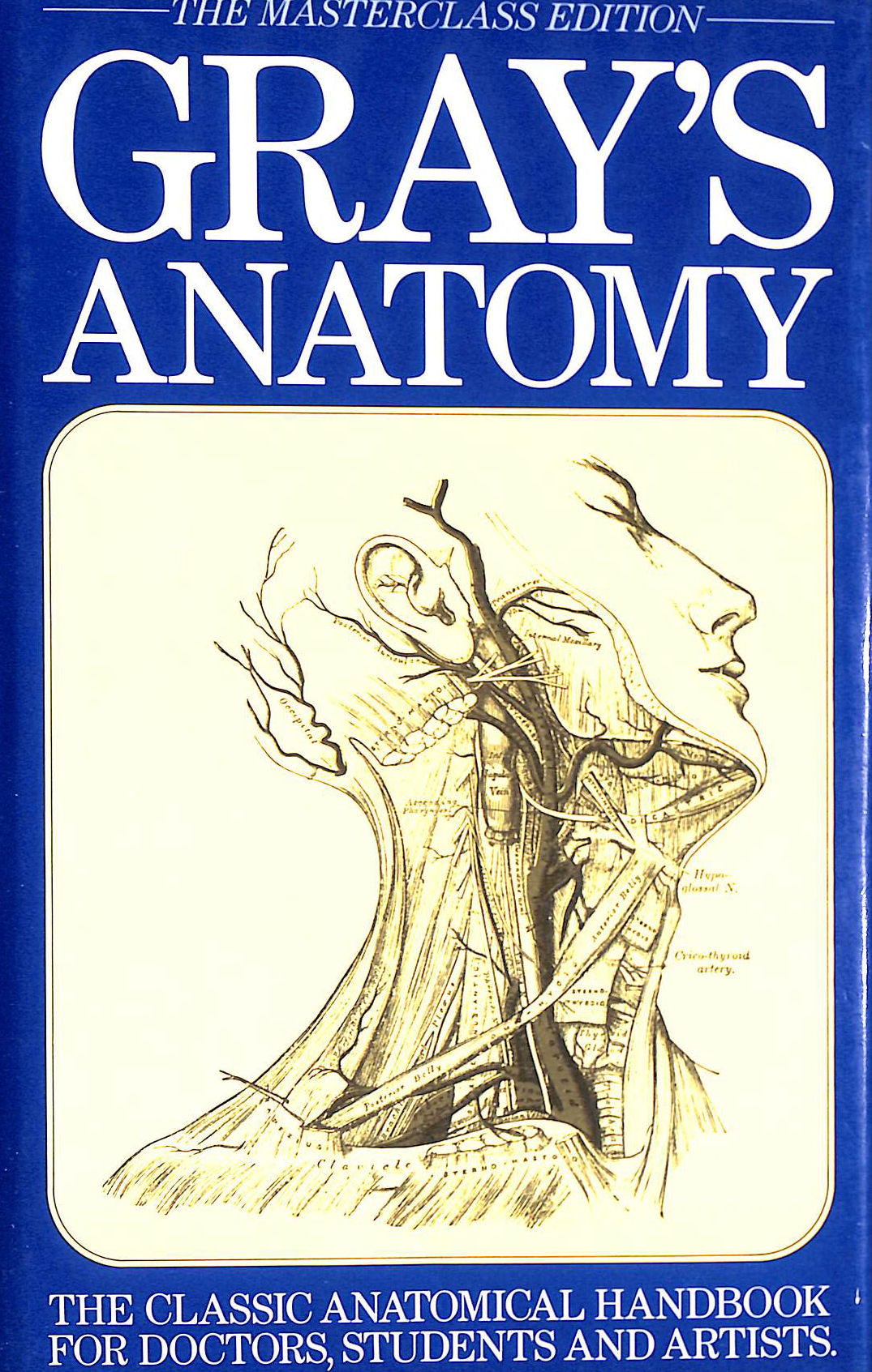 Image for Gray's Anatomy: The Classic Anatomical Handbook for Doctors, Students and Artists