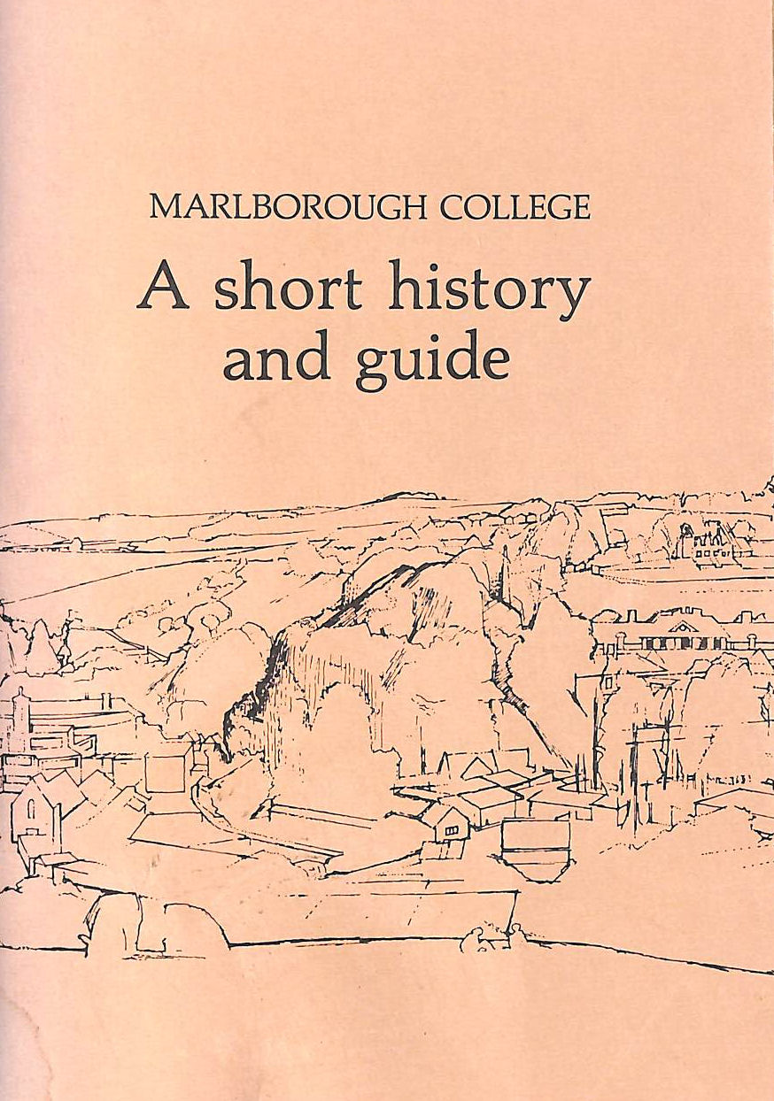 Image for Marlborough College: a Short History and Guide