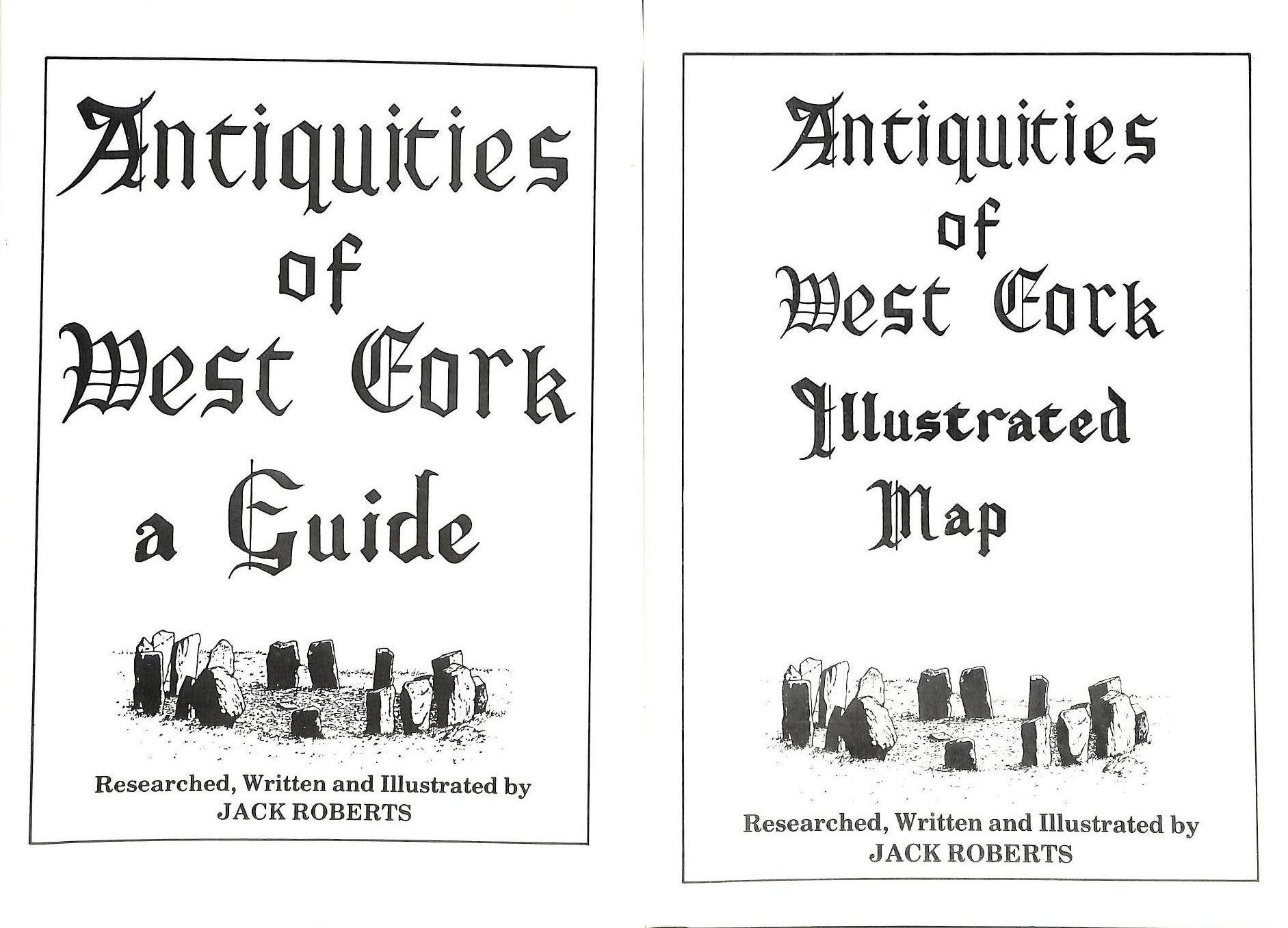 Image for Antiquities of West Cork: An Illustrated Guide to the Archaeological and Historical Sites of West Cork