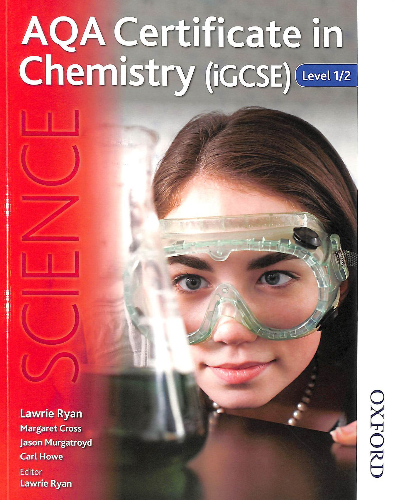 Image for AQA Certificate in Chemistry (iGCSE) Level 1/2