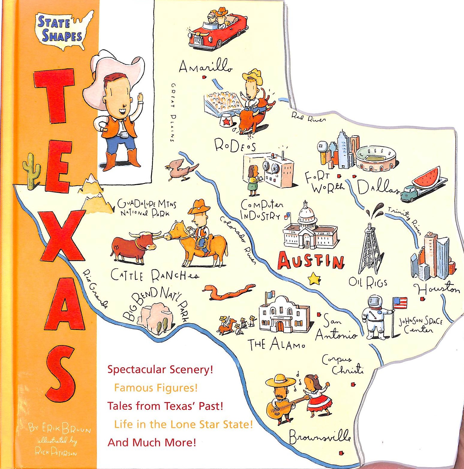 Image for State Shapes Texas (State Shapes)