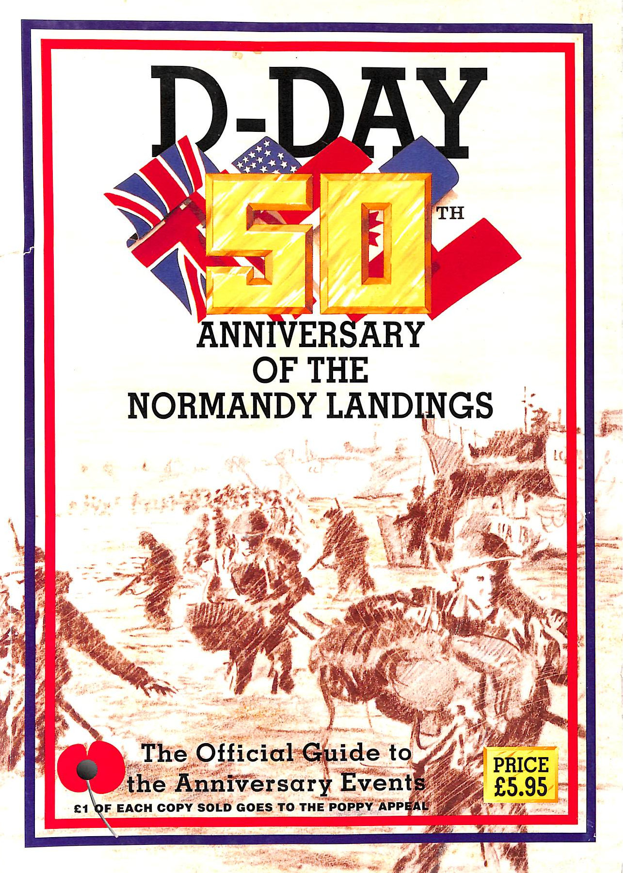 Image for D-Day: 50Th Anniversary Of The Normandy Landings : Official Guide To The Anniversary Events